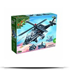 Buy Now 3IN1 Helicopter Toy Building Set