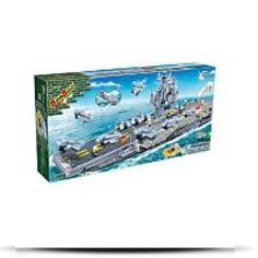 Aircraft Carrier Toy Building Set