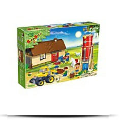 Buy Barn And Water Silo Toy Building Set