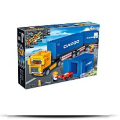 Buy Container Truck Toy Building Set