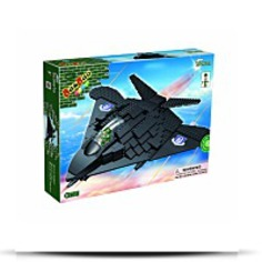 F117 Spy Fighter Plane Toy Building