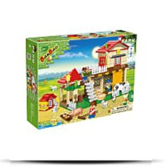 Farm House Toy Building Set