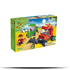 Buy Farm Workers Toy Building Set