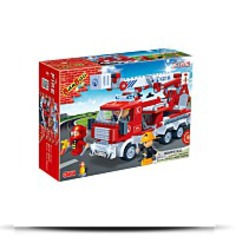 Fire Engine Toy Building Set