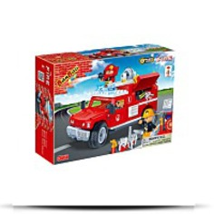 Fire Jeep Toy Building Set