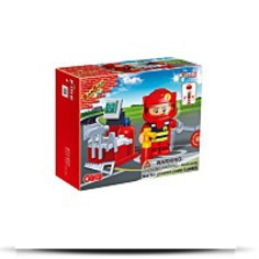 Fireman Toy Building Set