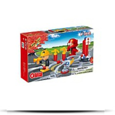 Buy Fireman Toy Building Set