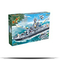 Buy Frigate Battleship Toy Building Set