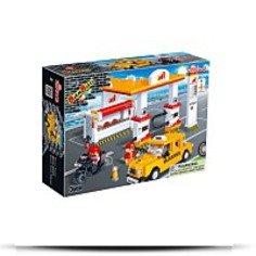 Buy Gas Station Toy Building Set