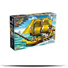 Buy Invincible Galleon Toy Building Set