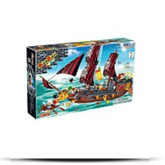 Invincible Ship Toy Building Set