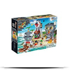 Island Battle Toy Building Set
