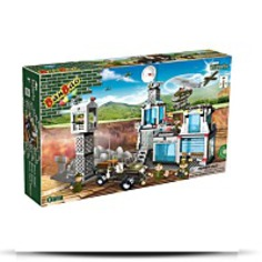 Military Base Toy Building Set