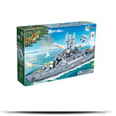 Buy Navy Boat Toy Building Set