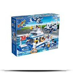Police Toy Building Set