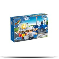 Policeman And Thief Toy Building Set