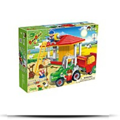 Buy Now Tractor And Hay Storage Toy Building