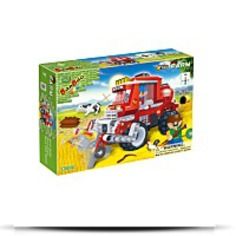 Wheat Harvester Toy Building Set