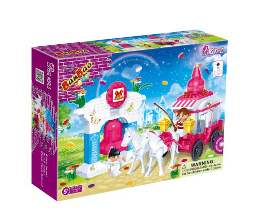 Wedding Carriage Toy Building Set