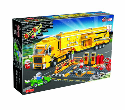 Racer Maintenance Truck Toy Building