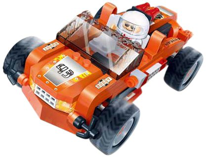 Ban Bao Buggy Toy Building Set, 108-PIECE