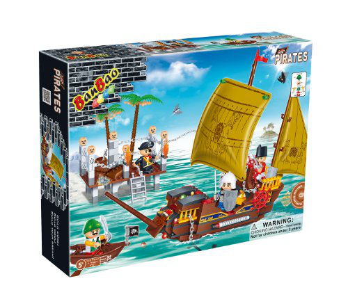 Ban Bao Harbor Toy Building Set, 502-PIECE