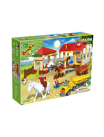 Horse Stables Toy Building Set