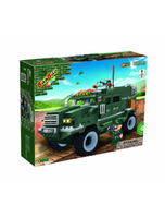 Military Vehicle Toy Building Set